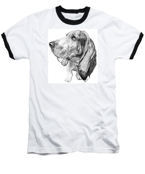 Pooch Baseball T-Shirt by Mike Ivey