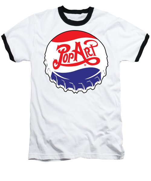 Pop Art Bottle Cap Baseball T-Shirt