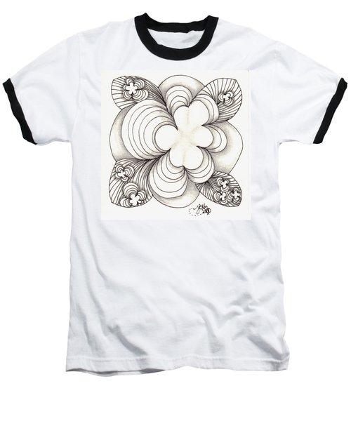 Popcloud Blossom Baseball T-Shirt by Jan Steinle
