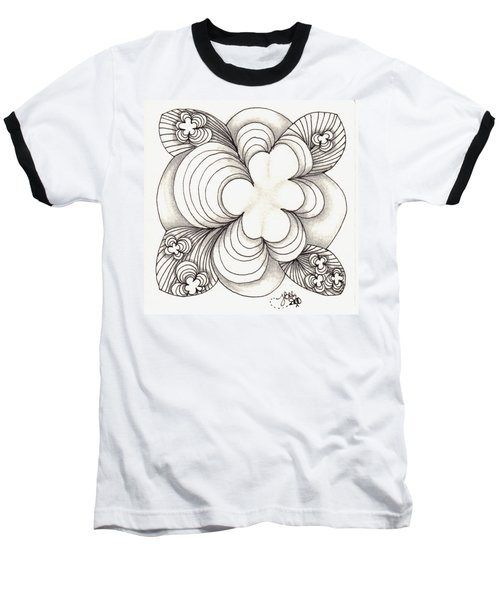 Popcloud Blossom Baseball T-Shirt