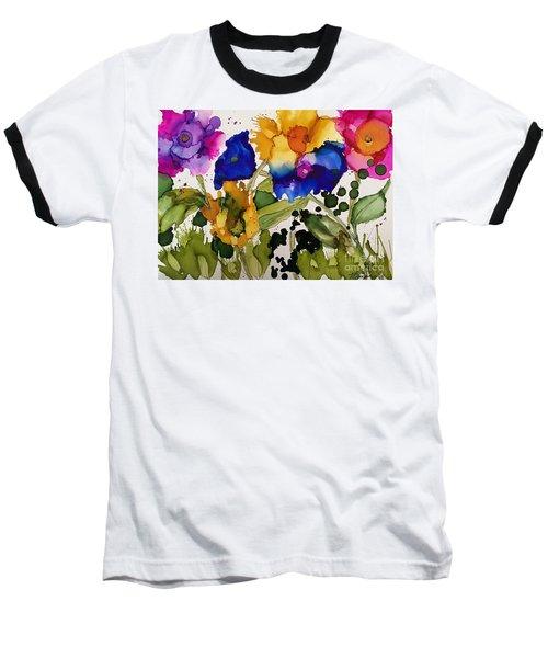 Poppy Party Baseball T-Shirt
