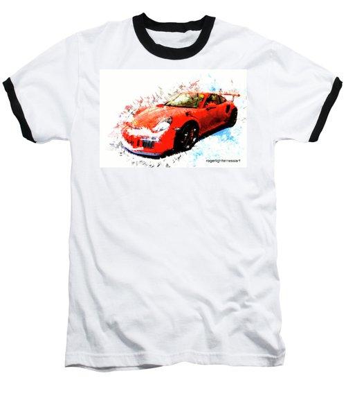 Porsche 911 Gts Baseball T-Shirt