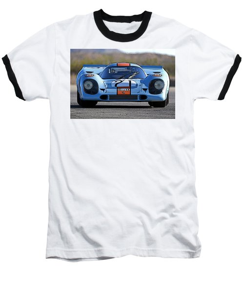 Porsche 917 Shorttail Baseball T-Shirt by Thomas M Pikolin