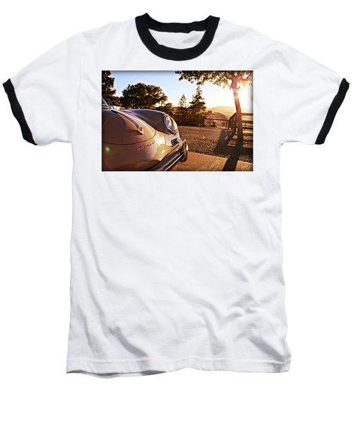 Porsche Sundown Baseball T-Shirt