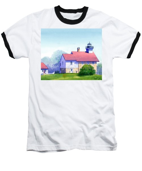 Port Washington Lighthouse Baseball T-Shirt