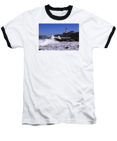 Portland Head Light I Baseball T-Shirt