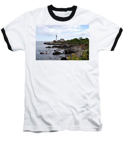 Portland Headlight II Baseball T-Shirt