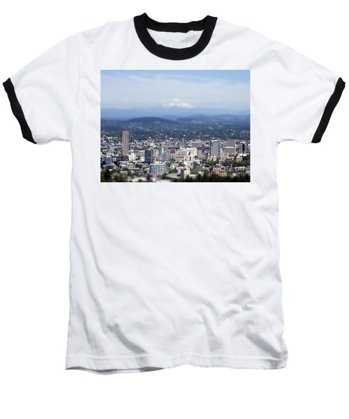 Portland In Perspective Baseball T-Shirt