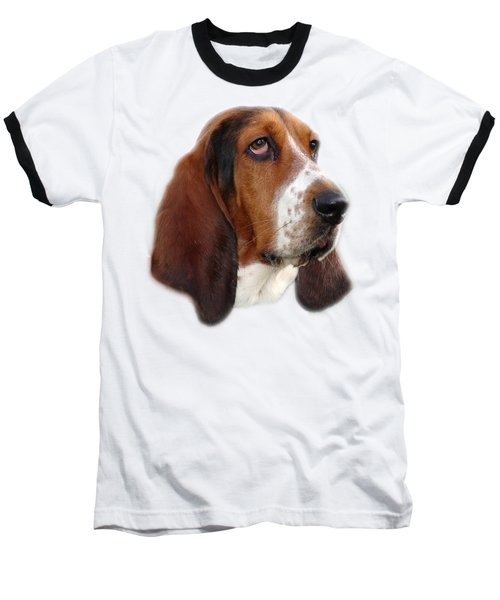 Baseball T-Shirt featuring the photograph Portrait Of A Dog by George Atsametakis