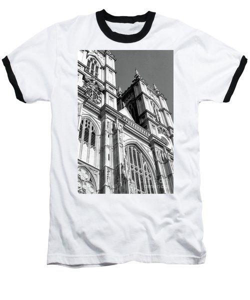 Portrait Of Westminster Abbey Baseball T-Shirt