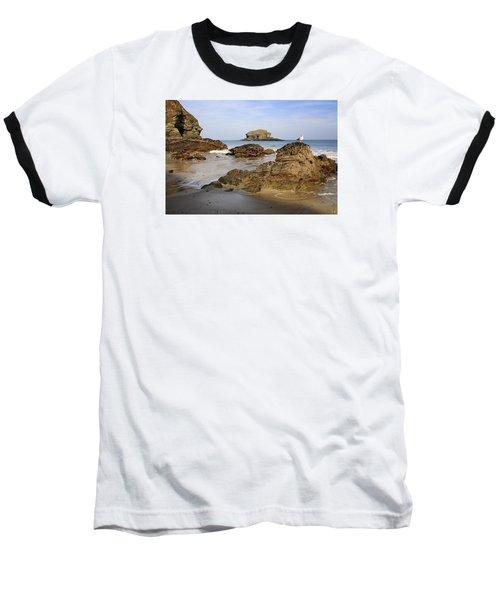 Portreath Baseball T-Shirt