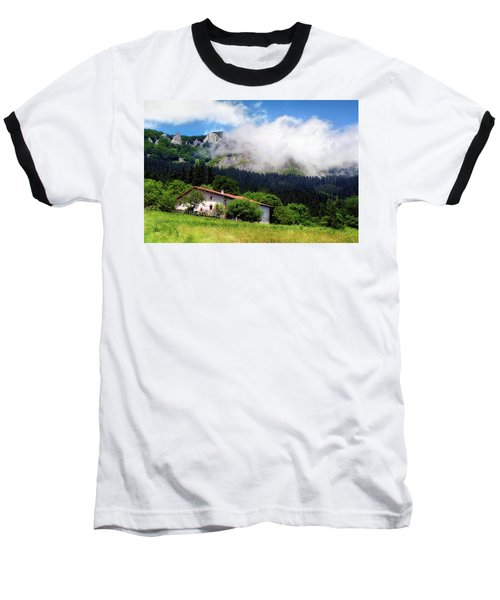 Postcard From Basque Country Baseball T-Shirt