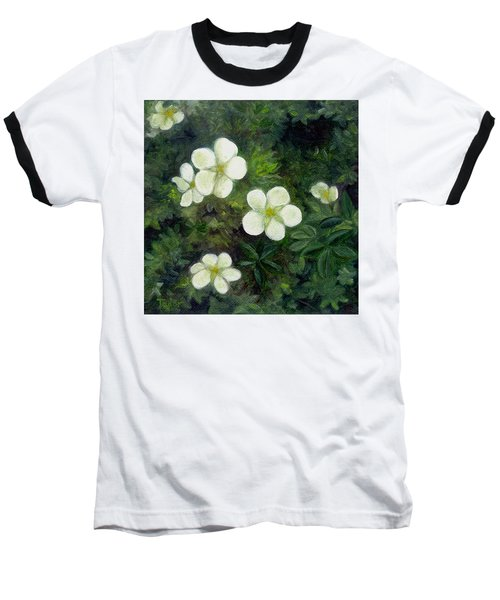 Potentilla Baseball T-Shirt
