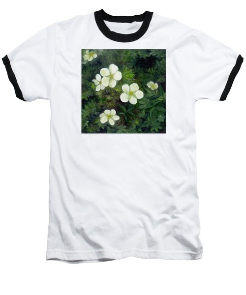 Potentilla Baseball T-Shirt