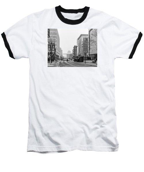Powers Christmas Tree Baseball T-Shirt