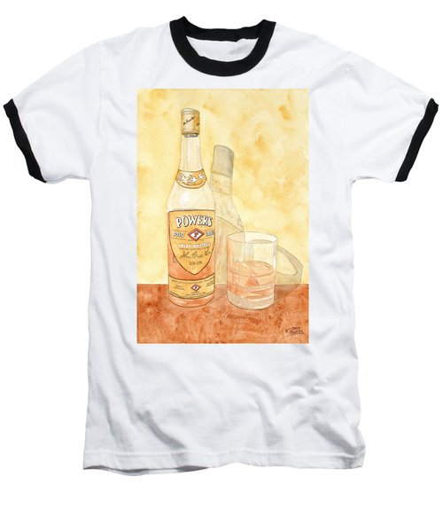 Powers Irish Whiskey Baseball T-Shirt