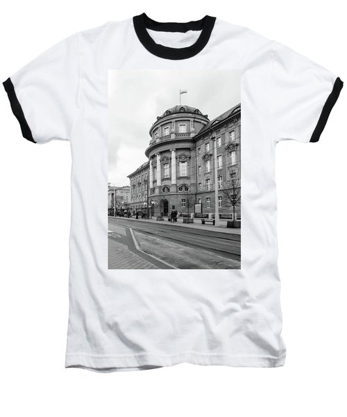 Poznan University Of Medical Sciences Baseball T-Shirt