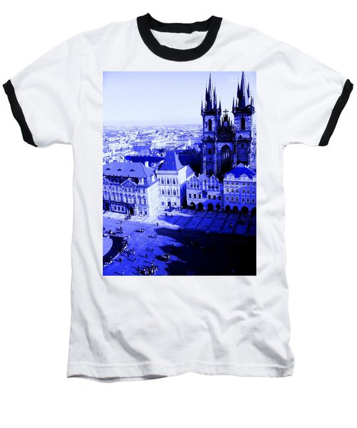 Prague Cz Baseball T-Shirt