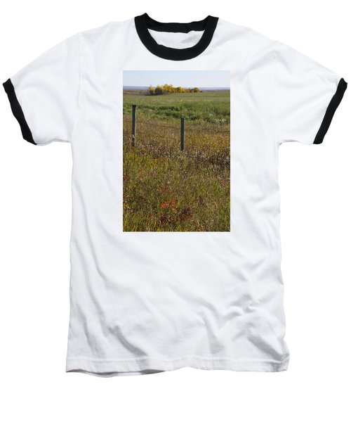 Prairie Autumn Baseball T-Shirt