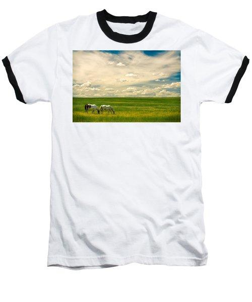 Prairie Horses Baseball T-Shirt