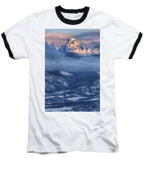 Precipice Smiling Baseball T-Shirt