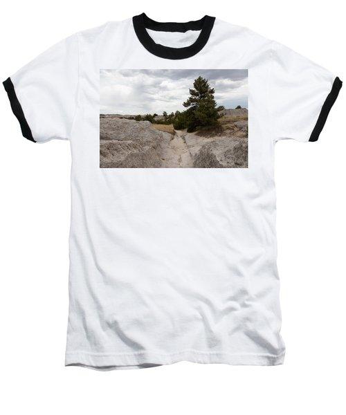 Preserved Wagon Ruts Of The Oregon Trail On The North Platte River Baseball T-Shirt by Carol M Highsmith