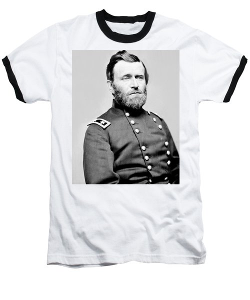President Ulysses S Grant In Uniform Baseball T-Shirt