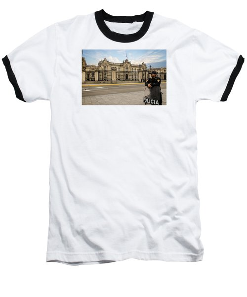 Presidential Palace In Lima Baseball T-Shirt