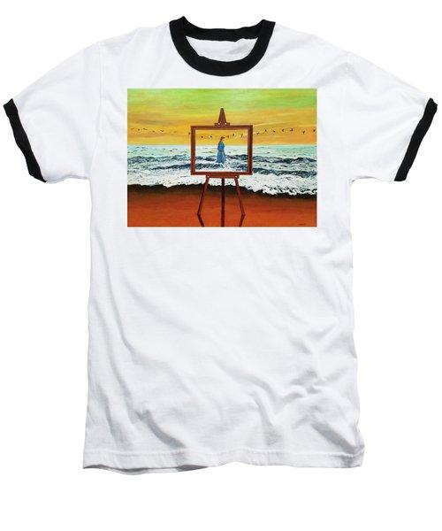 Pretty As A Picture Baseball T-Shirt