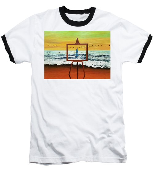 Pretty As A Picture Baseball T-Shirt
