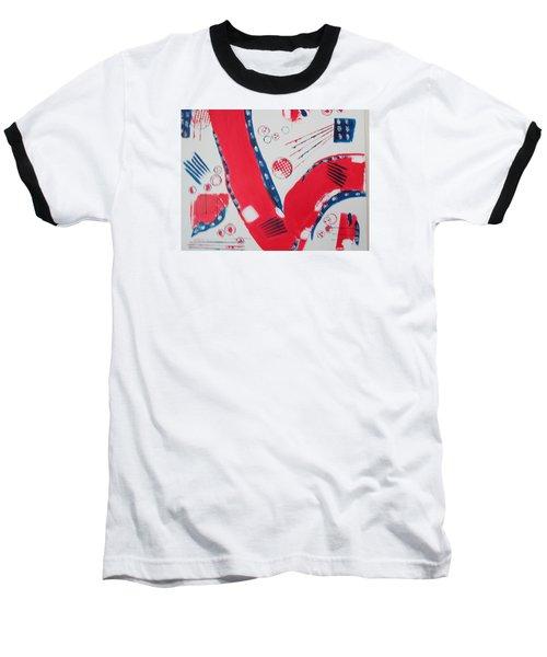 Pride - Glory - The Patriots Baseball T-Shirt by Sharyn Winters