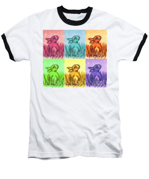 Primary Bunnies Baseball T-Shirt