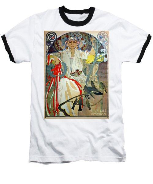Baseball T-Shirt featuring the photograph Primavera 1914 by Padre Art