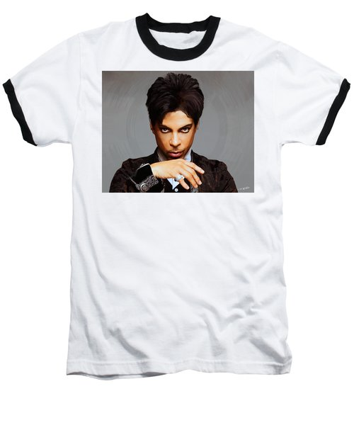 Prince Baseball T-Shirt by Paul Tagliamonte