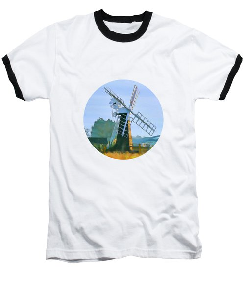 Priory Windmill Baseball T-Shirt