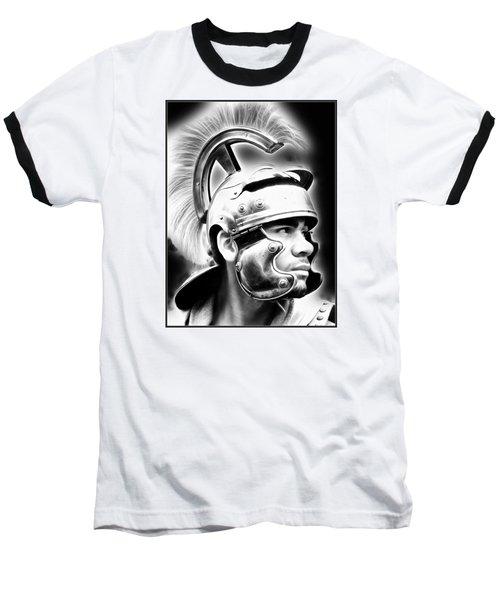 Profile Of A Trojan Hero Baseball T-Shirt