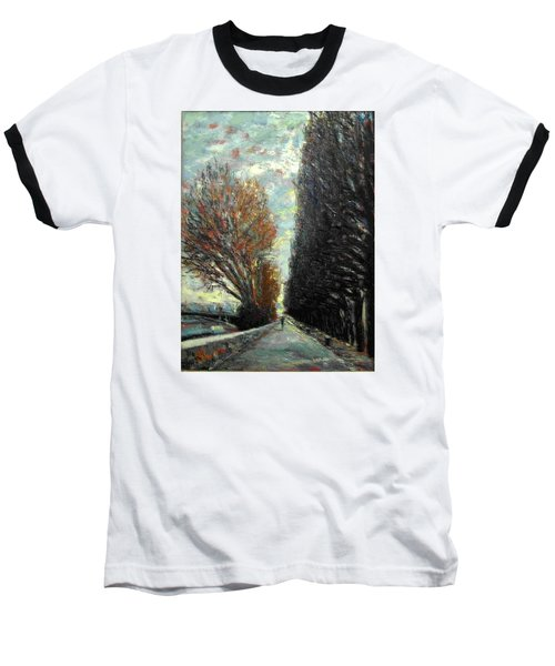 Promenade Baseball T-Shirt by Walter Casaravilla