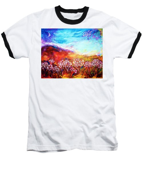 Baseball T-Shirt featuring the painting Promise by Winsome Gunning