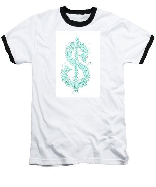 Prosperity. Calligraphy Abstract Baseball T-Shirt