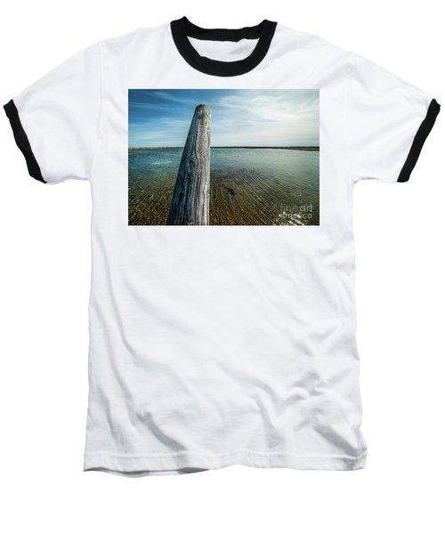 Provincetown Breakwater #2 Baseball T-Shirt