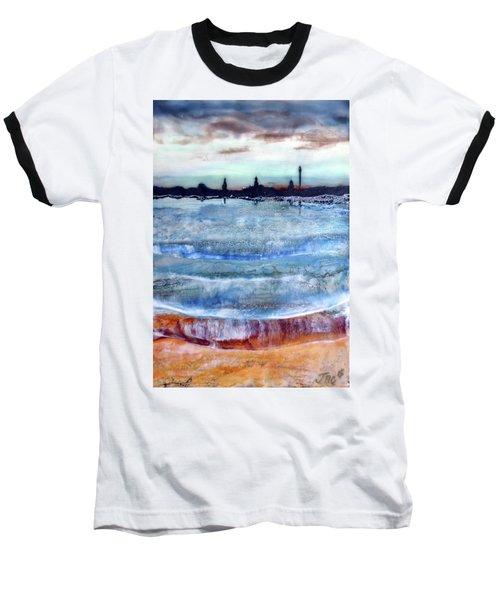 Provincetown Skyline 1 Baseball T-Shirt