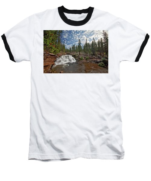 Baseball T-Shirt featuring the photograph Provo River Falls by Wesley Aston