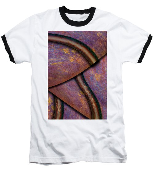 Baseball T-Shirt featuring the photograph Psychedelic Pi by Paul Wear