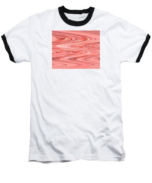 Psychedelic Zigzag Baseball T-Shirt