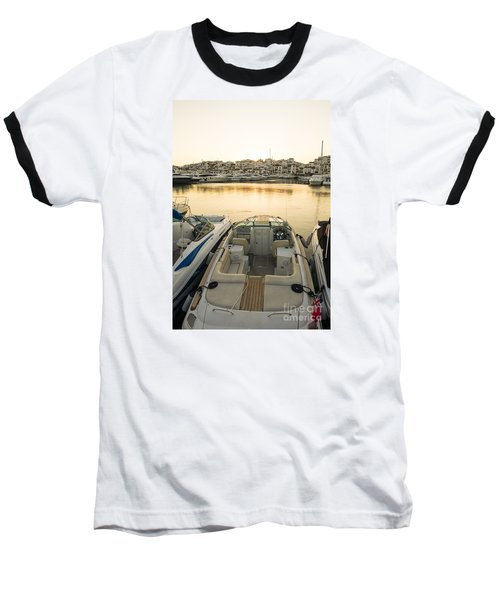 Puerto Banus Baseball T-Shirt by Perry Van Munster