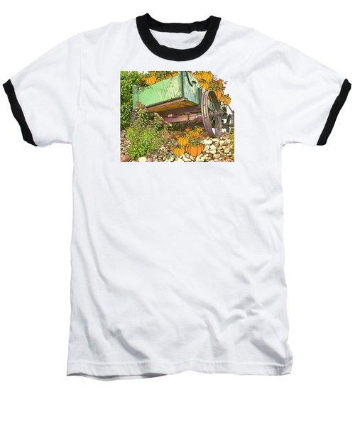 Pumpkin Harvest Baseball T-Shirt