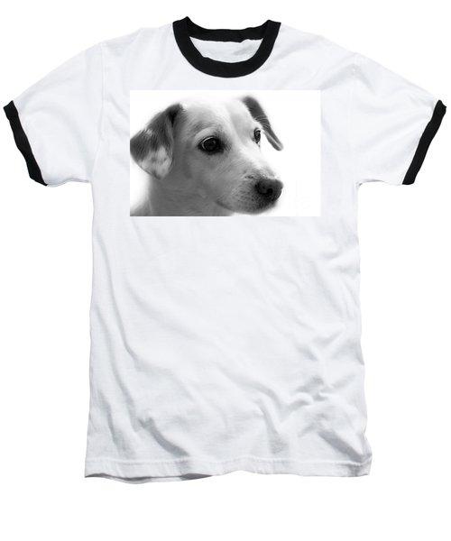Puppy - Monochrome 4 Baseball T-Shirt
