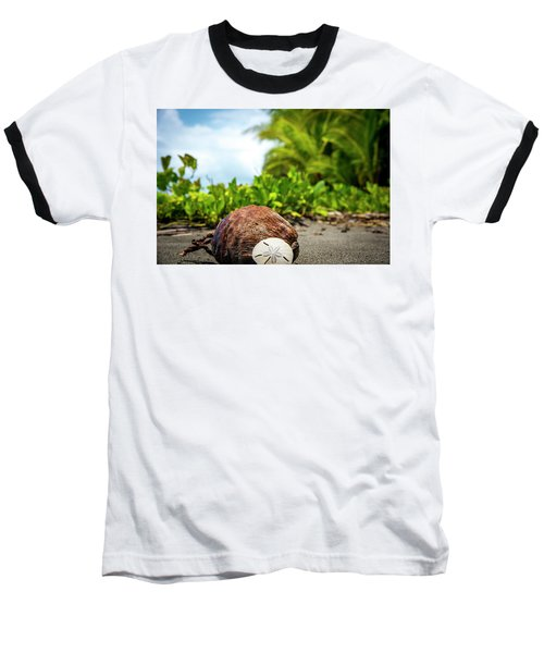 Baseball T-Shirt featuring the photograph Pura Vida Beach Life by David Morefield