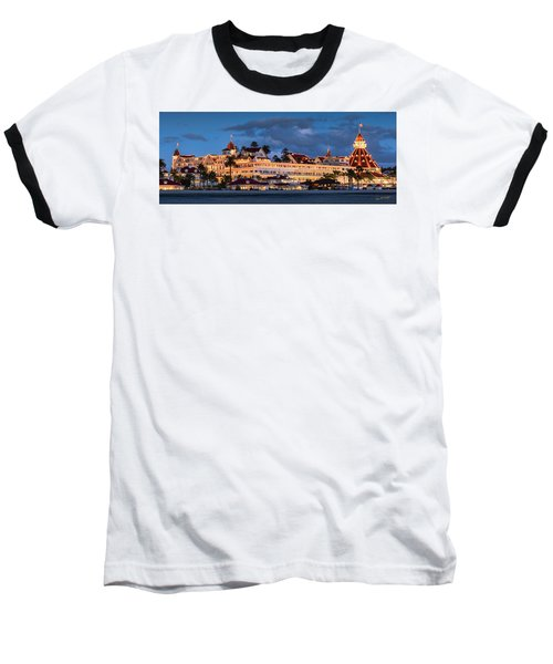 Pure And Simple Pano 48x18.5 Baseball T-Shirt
