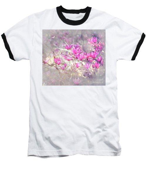 Pure Love Baseball T-Shirt by Agnieszka Mlicka
